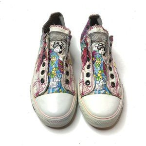 Ed Hardy Women's Geisha Japanese Pink Sneakers 8